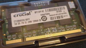 Micron/Crucial RAM
